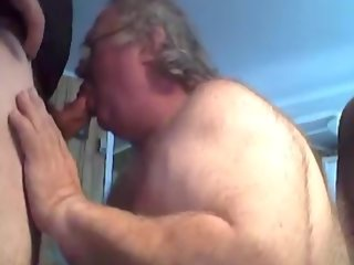 suck grandpa suck on webcam grandpa